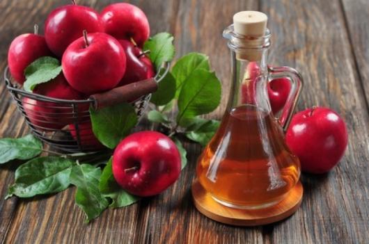 Компрес с ябълков оцет за разширени вени